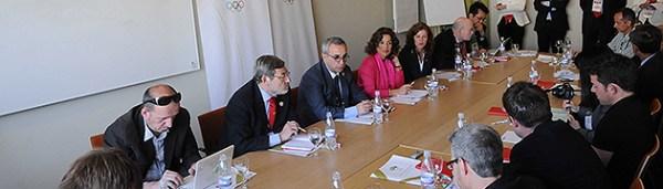 Madrid 2020 face à la presse internationale