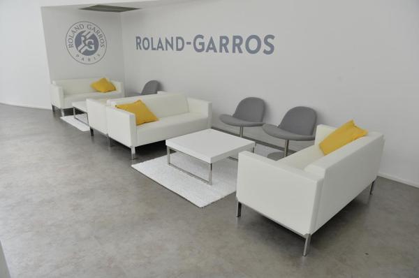 Roland Garros - Salle de réception des joueurs