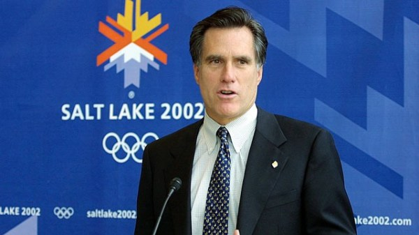 Salt Lake City 2002 - Mitt Romney