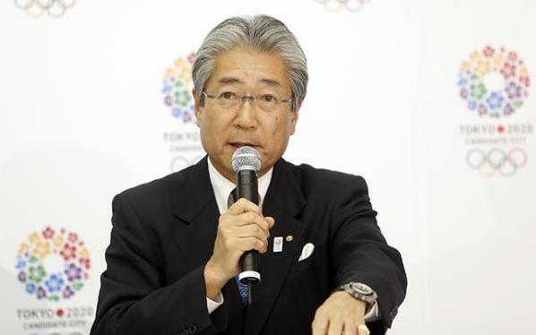 Tsunekazu Takeda - conférence de presse de Tokyo 2020