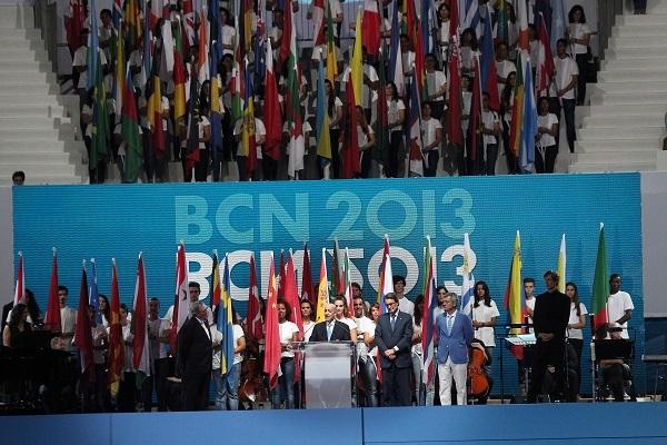 Cérémonie d'ouverture - discours - BCN 2013