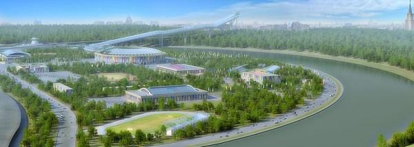 Complexe Olympique Loujniki - Moscou 2012