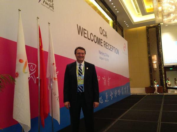 Hasan Arat - Jeux Asiatiques de la Jeunesse - Nanking 2013