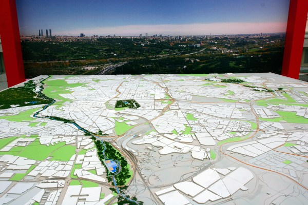 Madrid 2020 - maquette géante