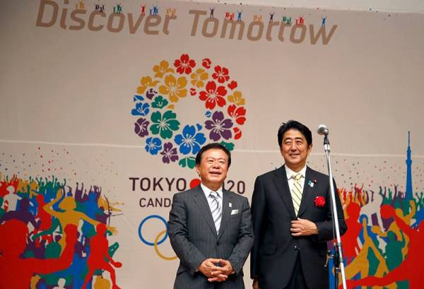 Naoki Inose - Shinzo Abe - Tokyo 2020