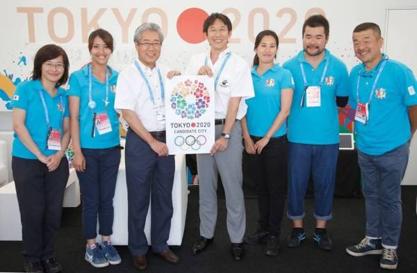 Tokyo 2020 - Tsunekazu Takeda - Barcelone 2013