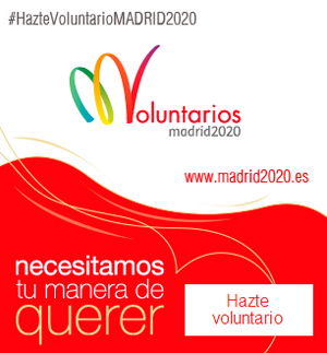 Voluntarios - Madrid 2020