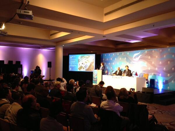 Conférence de presse - Istanbul 2020 à Buenos Aires - 03 septembre 2013