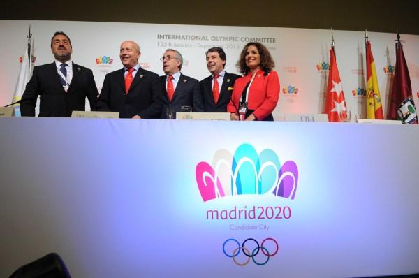 Madrid 2020 - Conférence de presse du 06 septembre 2013