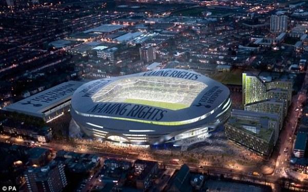 Nouveau stade - Tottenham
