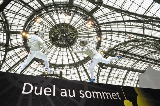 Grand Palais - mondiaux d'escrime 2010
