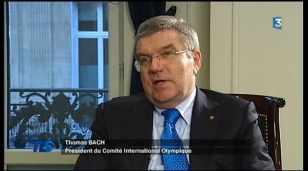 Thomas Bach - TLS - France 3