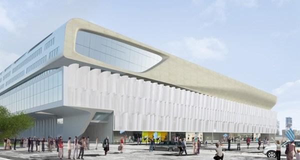 Arena 92 - façade
