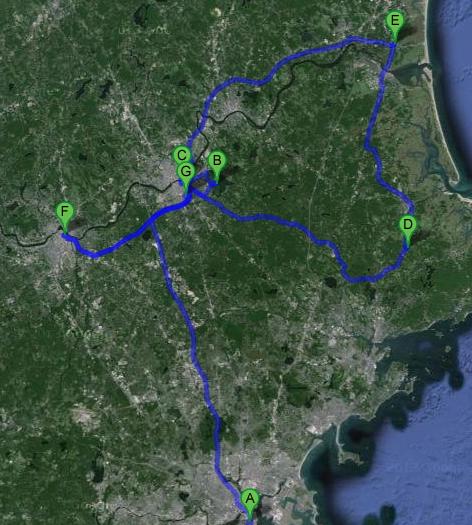 Nord de Boston - Massachusetts