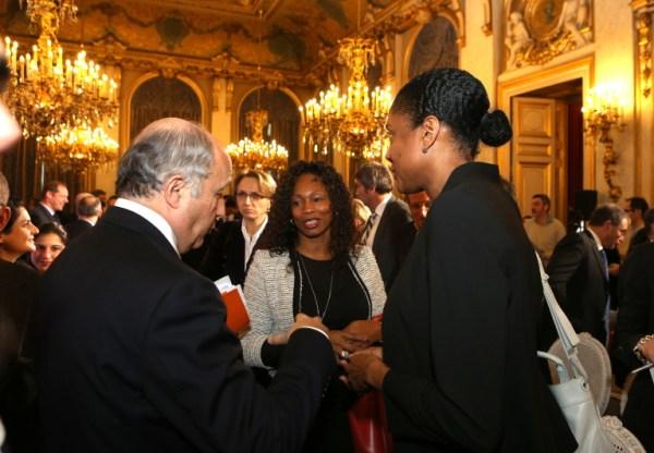 Laurent Fabius - Laura Flessel - Marie-José Perec