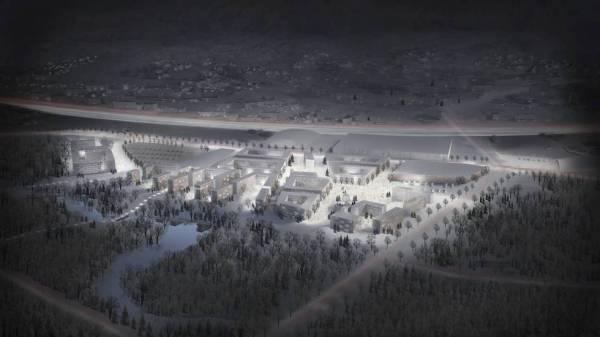 Village Olympique - projet de Kjelsrud