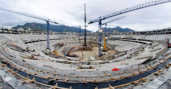 Travaux - Stade de la Peineta - Madrid