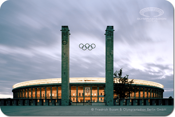 Berlin 2024 - Stade Olympique - nocturne