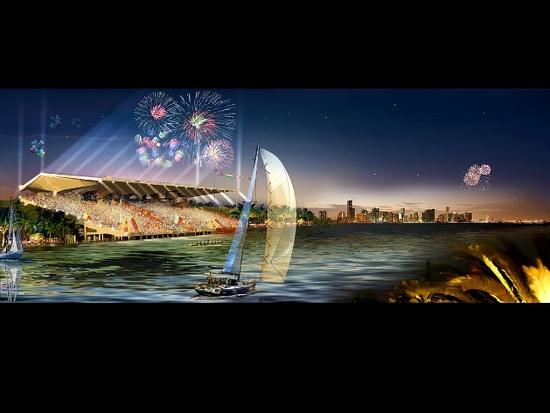 Miami Marine Stadium - nouveau projet