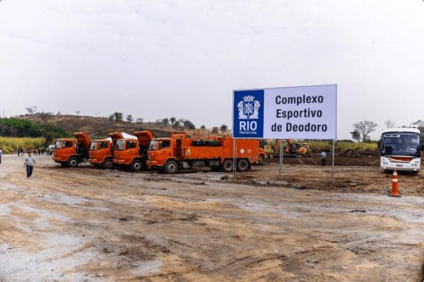 Parc Olympique de Deodoro - chantier