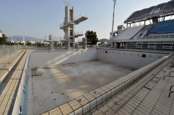 Athènes 2004 - piscine de plongeon