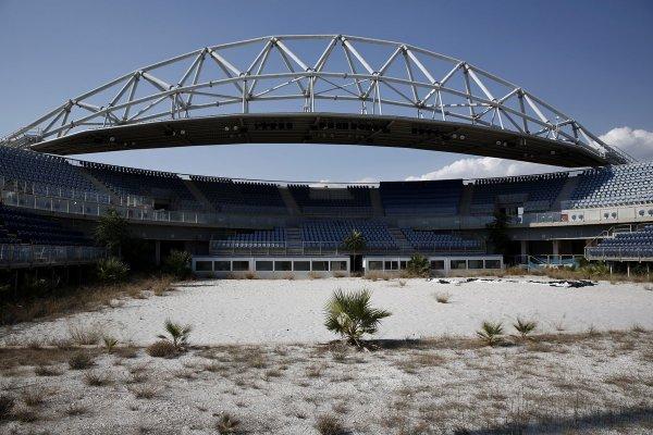 Athènes 2004 - stade de beach volley