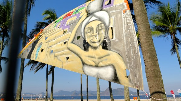 Rio 2016 - voile peinte 2