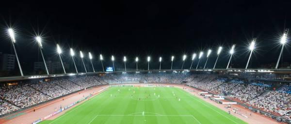 Zurich 2014 - Stadion Letzigrund - vue nocturne