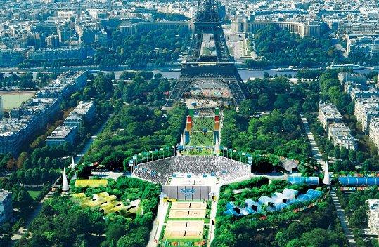 Paris 2012 - beach volleyy