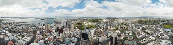 Auckland - vue panoramique