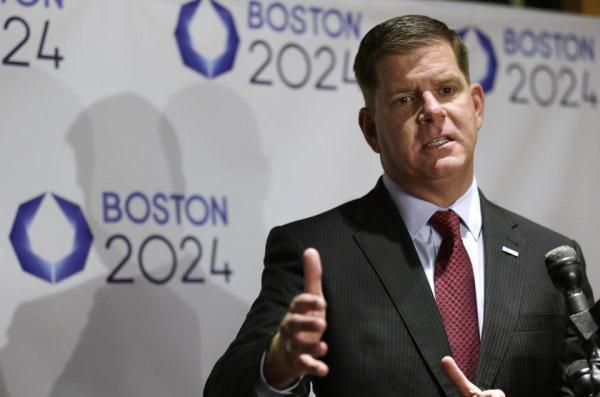 Boston 2024 - Maire de Boston