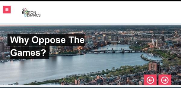 Boston 2024 - No Boston Olympics