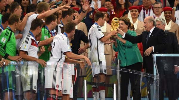 Coupe du Monde Dilma Rousseff