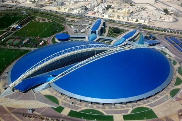 Doha - Aspire Dome - vue aérienne
