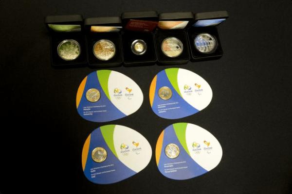 Rio 2016 - pièces
