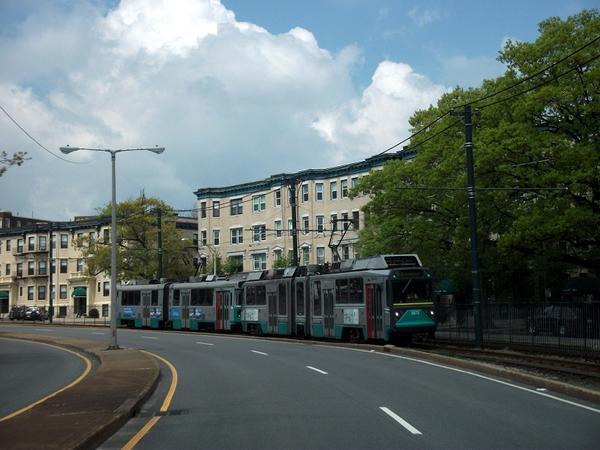 Boston - tramway