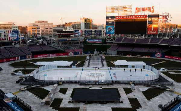 2015 Bridgestone NHL Winter Classic Build Out