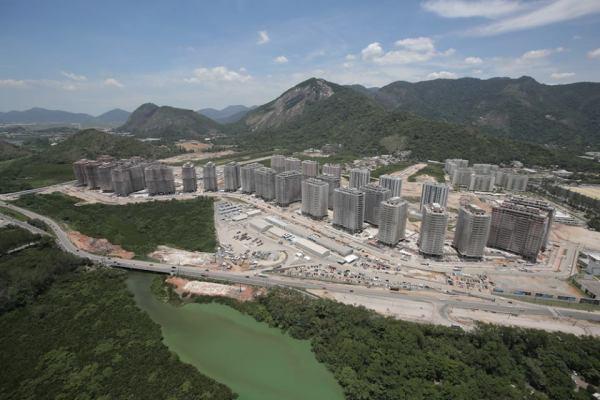 Rio 2016 - Village Olympique - décembre 2014