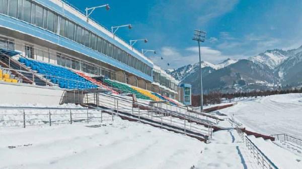 Almaty 2022 - centre de biathlon ak bulak