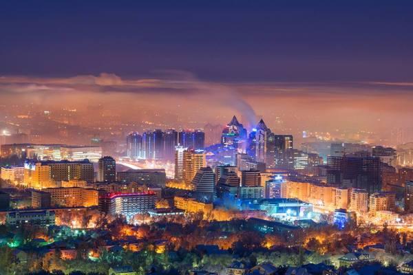 Almaty 2022 - vue nocturne
