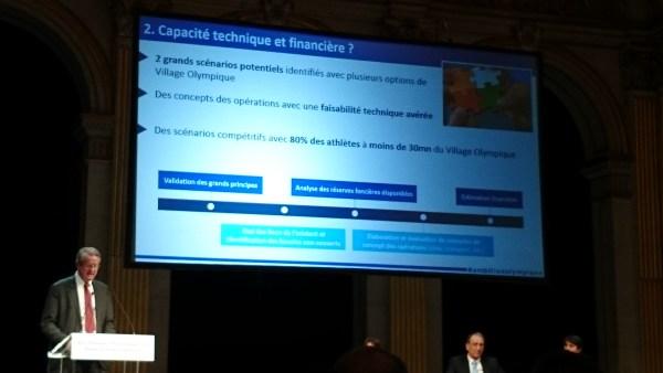 Paris 2024 - Bernard Lapasset