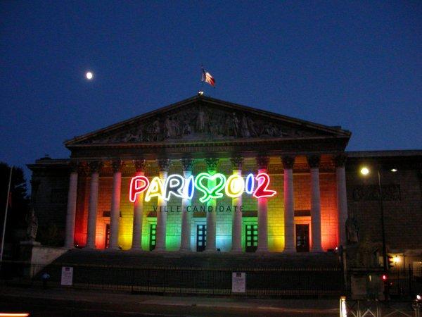 Façade de l'Assemblée Nationale - Paris 2012