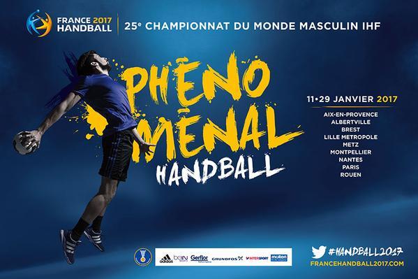 France handball 2017 - affiche