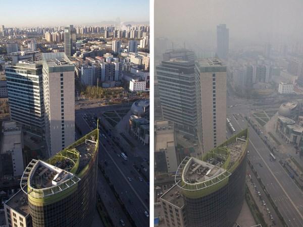 Pékin 2022 - pollution au smog