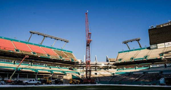 Sun Life Stadium de Miami - rénovation 2