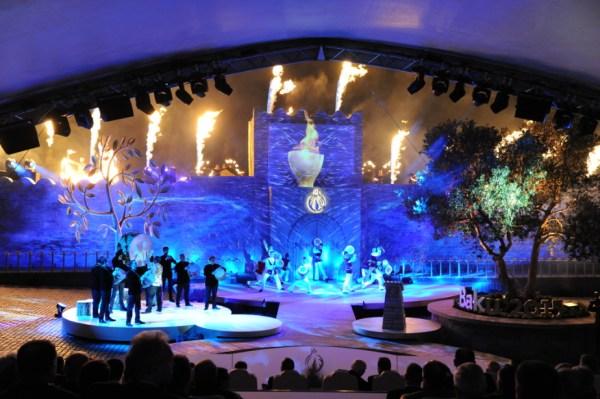 Bakou 2015 - cérémonie 1