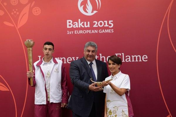 Bakou 2015 - torche
