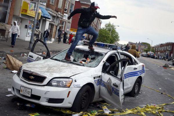 Baltimore - émeutes