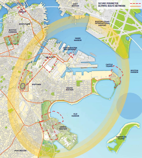 Boston 2024 - pôle front de mer