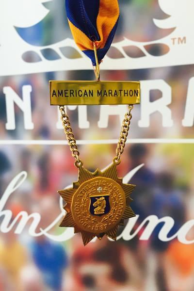 Marathon de Boston - médaille